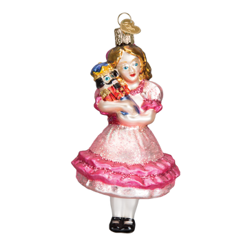 Clara Glass Ornament Glass Ornament