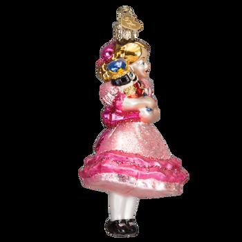 Clara Glass Ornament Glass Ornament Side