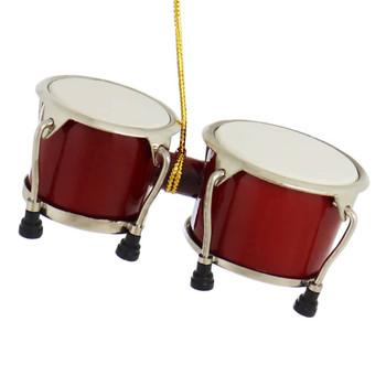 Mini Bongo Drums Ornament
