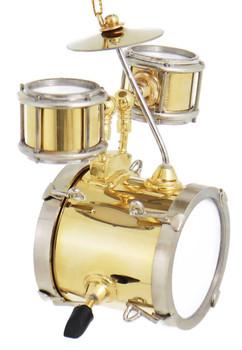 Mini Jr Drum Set Ornament right side