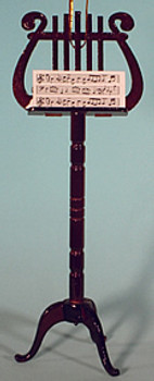 Music Stand Ornament Miniature Music Stand Wood 5.5