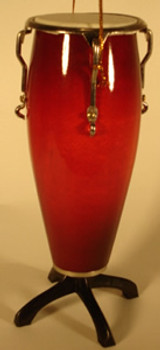 Conga Drum Ornament Miniature Conga Drum Wood Metal
