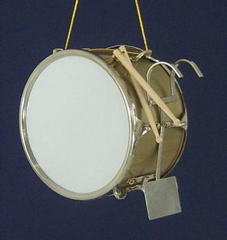 Marching Band Bass Drum Ornament Miniature Bass Drum