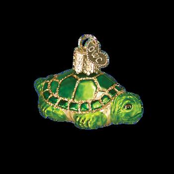 Small Turtle Glass Ornament