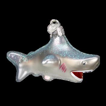 Shark Glass Ornament