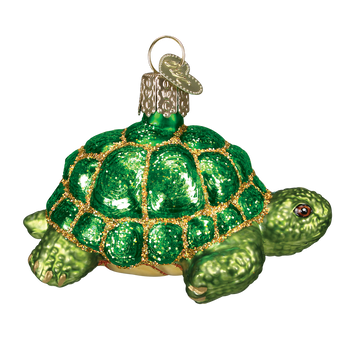 Tortoise Glass Ornament