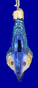 Sailfish Old World Christmas Glass Ornament 12226 inset