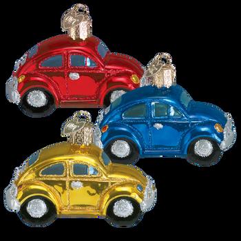 VW Toy Car Glass Ornament