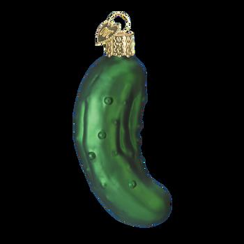 Pickle Glass Ornament