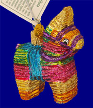 Mexican Pinata Old World Christmas Glass Ornament 44025