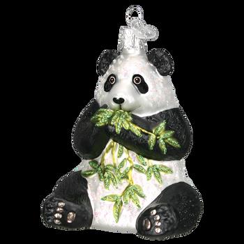 Panda Glass Ornament