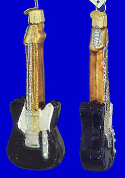 Electric Guitar Old World Christmas Glass Ornaments 38024 inset
