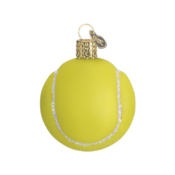 Tennis Ball Old World Christmas Glass Ornament 44013 main