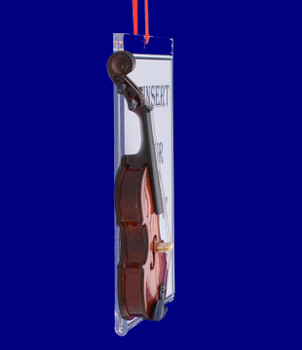 Picture Frame Violin Gift Christmas Ornament side