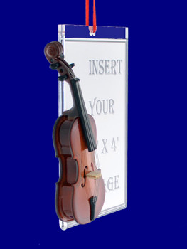 Cello Picture Frame Gift Christmas Ornament side