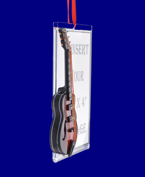 Picture Frame Gibson Guitar Ornament inset