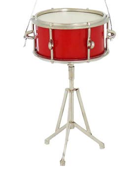 Mini Snare Drum Ornament w/Stand