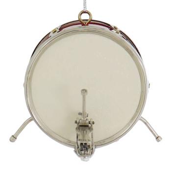 Mini Bass Drum Ornament back