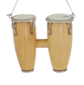 Mini Conga Drums Ornament - Double Conga