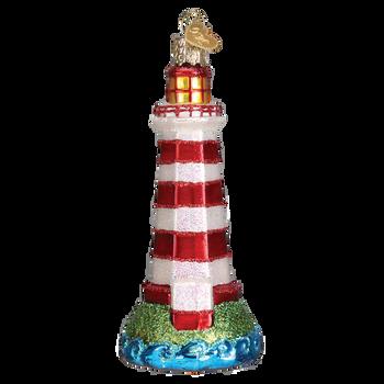 Sambro Lighthouse Glass Ornament side