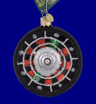 Casino Roulette Old World Christmas Ornament 44093