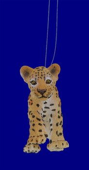 Baby Leopard Ornament