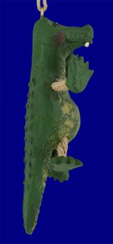 Comical Alligator Ornament