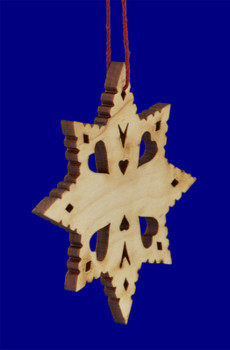 Laser Wood Grandad Ornament inset