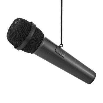 Microphone Ornament Mini Microphone Black