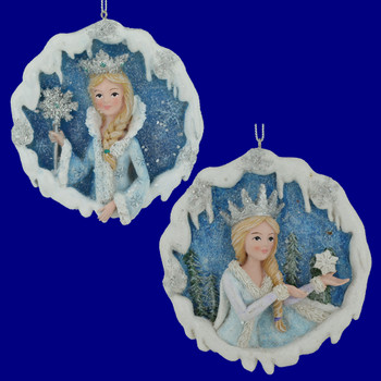 Frosted Kingdom The Snow Queen Ornament