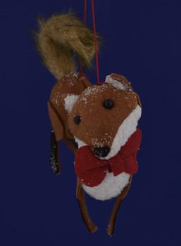 Slinky Fox Ornament inset 1