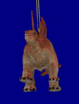 Stegosaurus Rubber Plastic Dinosaur Ornament inset 2