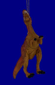 Carnotaurus Rubber Plastic Dinosaur Ornament inset 1