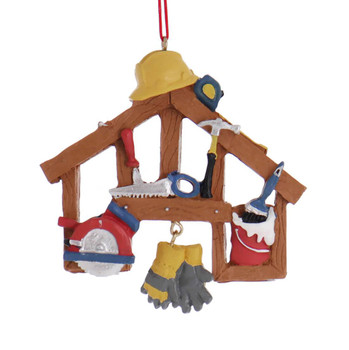 New Home Construction or Home Repair Ornament