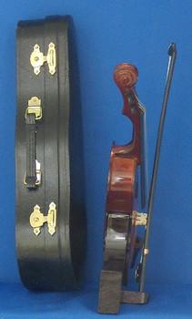 Mini Cello 4 pc Gift Set Decor Bow Case Stand 8 Large inset