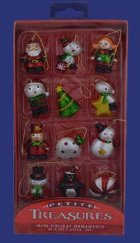 12 Assorted Miniature Ornaments H9551