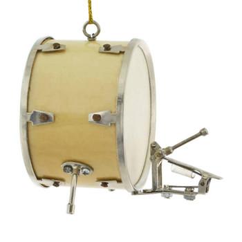 Mini Bass Drum Ornament side