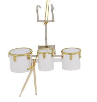 Mini Marching Tom Trio Drum Set Ornament