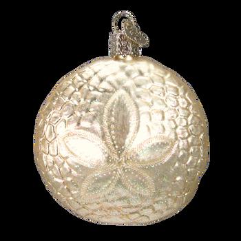 Sand Dollar Glass Ornament