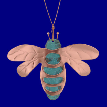 Copper Bumble Bee Ornament by Korman