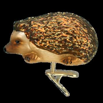 Hedgehog Glass Ornament