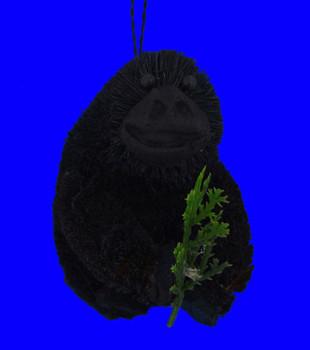 Buri Gorilla with Twig Ornament front