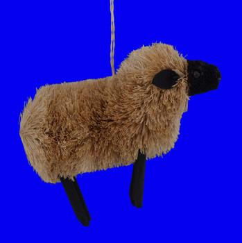 Lamb Sheep Buri Bristle Ornament