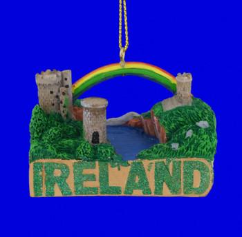Ireland Castles Shelf Sitter Ornament