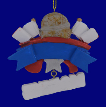 Marine Service Thank You Ornament 133174 back view