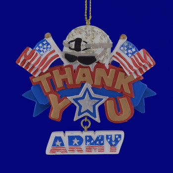 US Army Thank You Ornament 133177