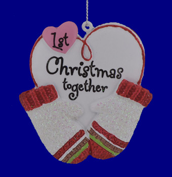1st Christmas Together Heart Ornament 133822