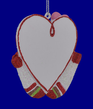 1st Christmas Together Heart Ornament 133822 back view
