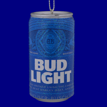 Bud Light Beer Can Ornament ab1111