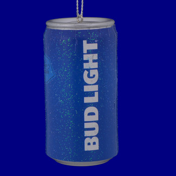 Bud Light Beer Can Ornament ab1111 back view
